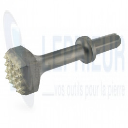 Boucharde carbure P19/50H 9 Dents