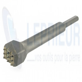 Boucharde carbure B127C 30x30 9 dents