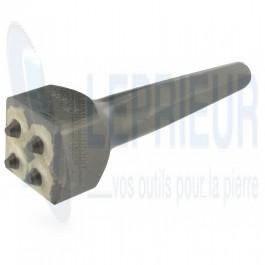 Boucharde carbure D150HK 4 dents