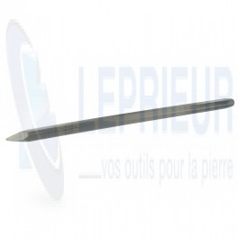 Broche acier 16x350
