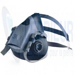 Demi-Masque système baïonnette 3M 7502