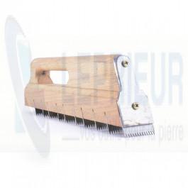CF Bordelais Plat 250x80 à dents