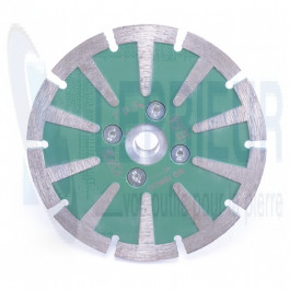 Disque Laser Ø 125 à surfacer Combi GR pr granit M14