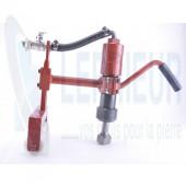 Chariot bouchardeur 1 rouleau avec marteau ME9B