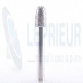 Fraise diamant T6 40/50 ogive Ø 8*