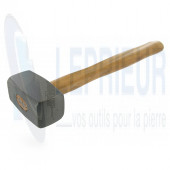 Massette Granitier 1.00 kg emmanchée