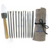 Trousse Sculpture 11 outils à main + 1 massette