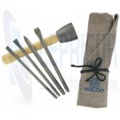 Trousse Initiation 4 outils + 1 massette